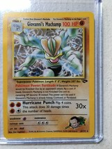 Giovanni's Machamp Holo Pokemon # 6/132 Mint never played US Free Shipping - $11.27