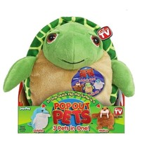 "Pop Out Pets Ocean Reversible Plush Toy Get 3 Stuffed Animal In One 8"" - $6.50"