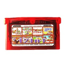 Nintendo GBA Game EG002 12 in 1 Video Game Cartridge Console Card Compil... - $20.68
