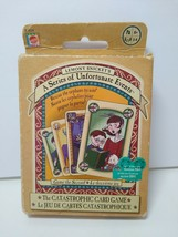 Lemony Snickets A Series Of Unfortunate Events Catastrophic Card Game by Mattel - $17.81