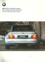 2000 BMW Z3 coupes sales brochure catalog US 00 2.8 M - $15.00