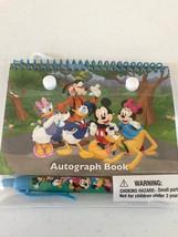 Disney Mickey Mouse Donald Goofy Pluto Minnie Trees Autograph Book + Pen - $12.74