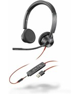 Plantronics - BW3325 - Poly Blackwire Headset Stereo USB-A - $89.05