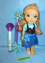 Disney Frozen Doll Anna With 2 Wands Toys  - $29.69
