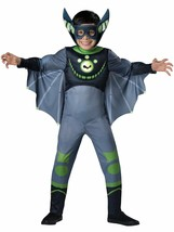InCharacter Deluxe Wild Kratts Green Bat Child Boy Halloween Costume 142105 - £23.41 GBP