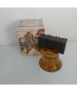 Vintage RARE Avon Liberty Bell Decanter Tribute After Shave 5 Oz Full Bo... - $31.88
