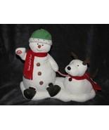Hallmark Jingle Pals Bells Snowman Dog  2004 Snow Much Fun Animated Plus... - $19.79