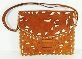 Vintage Hand Tooled Leather Purse Costa Rica Talabarteria Castro Caballo... - $44.54