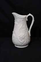 Portmeirion Porcelain British Heritage Parian Collection Pitcher w/Grape... - $39.99