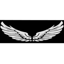 PANDA SUPERSTORE Wing Car Body Sticker Angel Wings Personality Reflective Car St