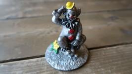 """Vintage Pewter Clown Flown Decor Figure 3"""" - $24.74"""