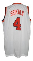 Ron Seikaly #4 College Basketball Jersey Sewn White Any Size image 2