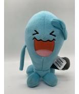 "Tomy Pokemon Licensed Plush Wob Buffet Blue Stuffed Animal 8"" Tall - $14.85"