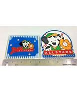 Vintage Sanrio All Star Pups Puppy League Dalmatian ID Card Holder Noteb... - $18.95