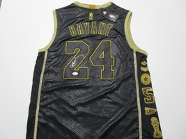 KOBE BRYANT / HALL OF FAME / AUTOGRAPHED L. A. LAKERS COMMEMORATIVE JERSEY / COA image 1