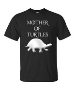 Mother of Turtles  Turtle Mom Mens T-Shirt & Gift Color Black Navy Gift ... - $16.78