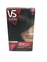 VS Vidal Sassoon Pro Series Ultra Vibrant Hair Color 2 Black Hair Dye Permanent - $12.86