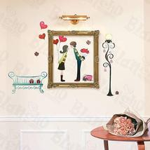 First Kiss - Large Wall Decals Stickers Appliques Home Decor - $7.91