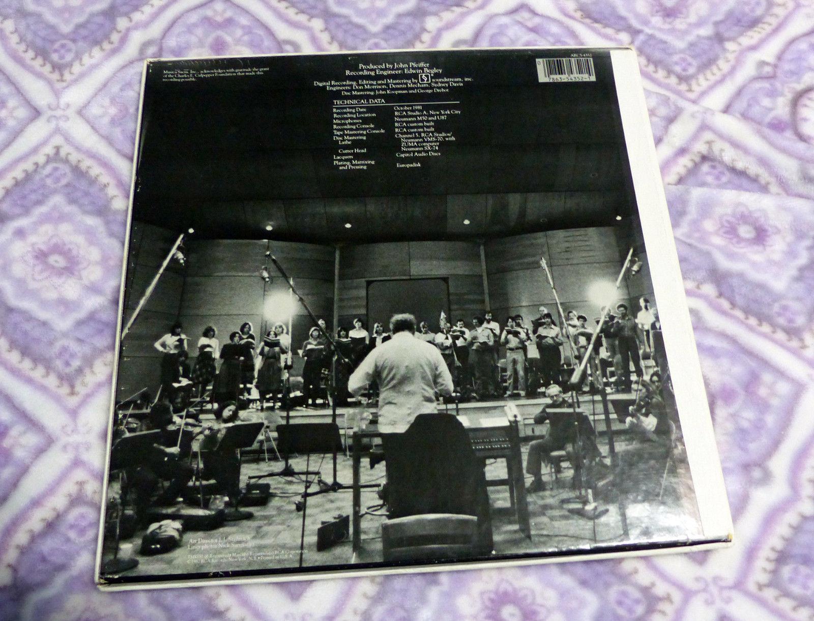 HANDEL: Messiah 3LP  Musica Sacra/Richard Westenburg Audiophile NY Ed 1 Pressing