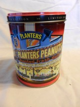 1998 Planters Mr. Peanut Limited Edition Round Decorative Metal Tin Empty - $14.84