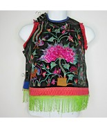 Antique Chinese Miao Hmong Hill People Hand Embroidered Costume Dress Ch... - $247.45