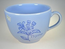 Royal Worcester Herb Garden Blue Breakfast Cup NEW WITH TAG - $12.16