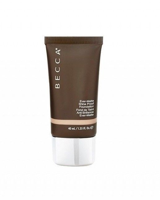 Primary image for Becca Ever Matte Shine Proof Foundation  Medium Coverage 1.35 oz SANDALWOOD NIB