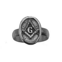 Sterling silver 925 Mason FreeMason Masonic Ring Band Jewelry Pick your ... - $26.73