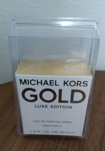 NEW Women's Michael Kors GOLD Luxe Edition 1.0 FL. OZ. Liq./ 30 ml Unopened  - $28.00