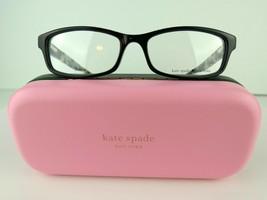 Kate Spade Jacey (WR7) Black Havana 52-16-140 Eyeglass Frames - $61.70