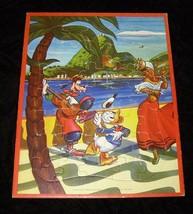 Disney Frame Tray Puzzle Donald Duck Goofy Vintage Jaymar - $19.99