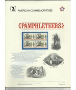 PAMPHLETEERS COMMEMORATIVE PANEL #1476 1972 SEALED IN ORIGINAL WRAPPER  ... - $6.32