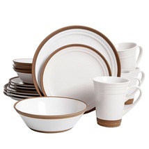Gibson Elite Brynn 16-Piece Dinnerware Set, White - $127.75