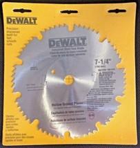 """Dewalt DW3327 7-1/4"""" x 60 Tooth Hollow Ground Planer Steel Saw Blade 5/8... - $5.94"""