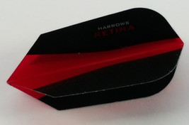 Harrows Retina Red Slim Dart Flight - $1.23