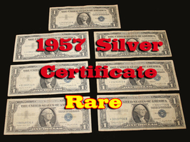 1957 Silver Certificate Star Notes Dollar Bill - $5.99
