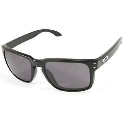 New Oakley Sport Holbrook Matte Black w/Warm Grey OO9102-01
