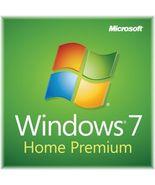 Windows 7 Home Premium Instant Delivery 32bit 64bit Retail Activation Key  - $14.95