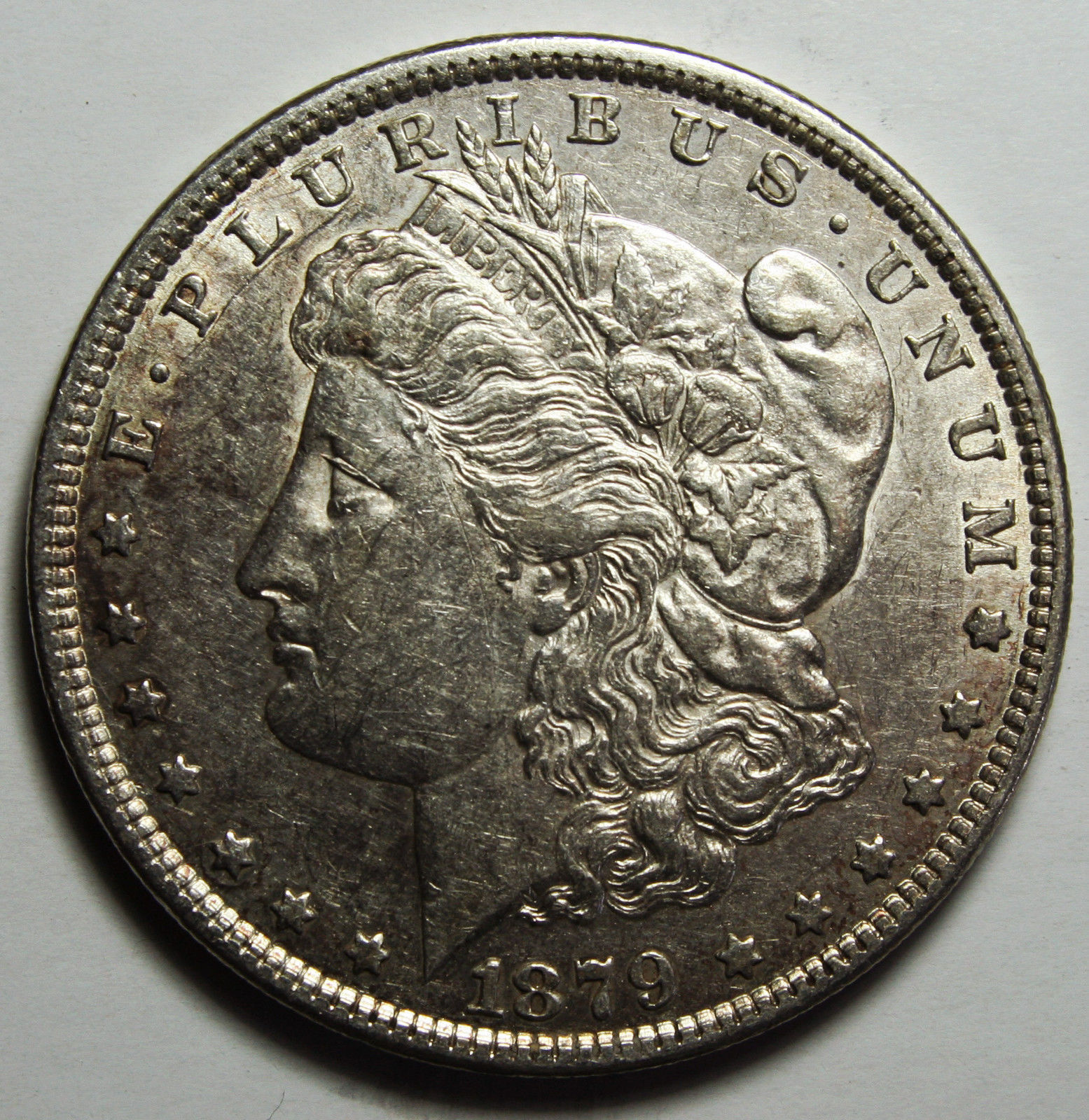 1879 MORGAN SILVER DOLLAR COIN Lot# D 4