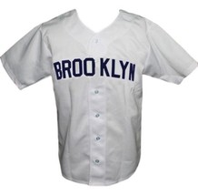 Brooklyn Loons Retro Baseball Jersey 1951 Button Down White Any Size image 3