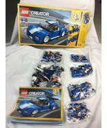 LEGO Creator 3 in 1 Turbo Track Racer Building Set Blue (Open Box) 31070 - $37.39