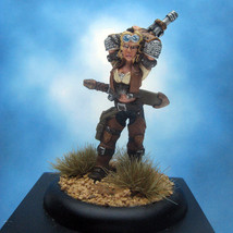 Painted Privateer Press Miniature Warmachine Mercenaries Captain Sam Machorne - $55.73