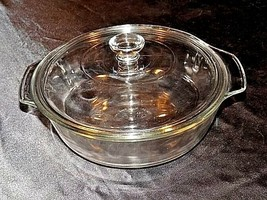 Vintage Anchor Hocking Cooking Dish with Lid 1.5 Qt./ 1 L AA18-1272 image 2