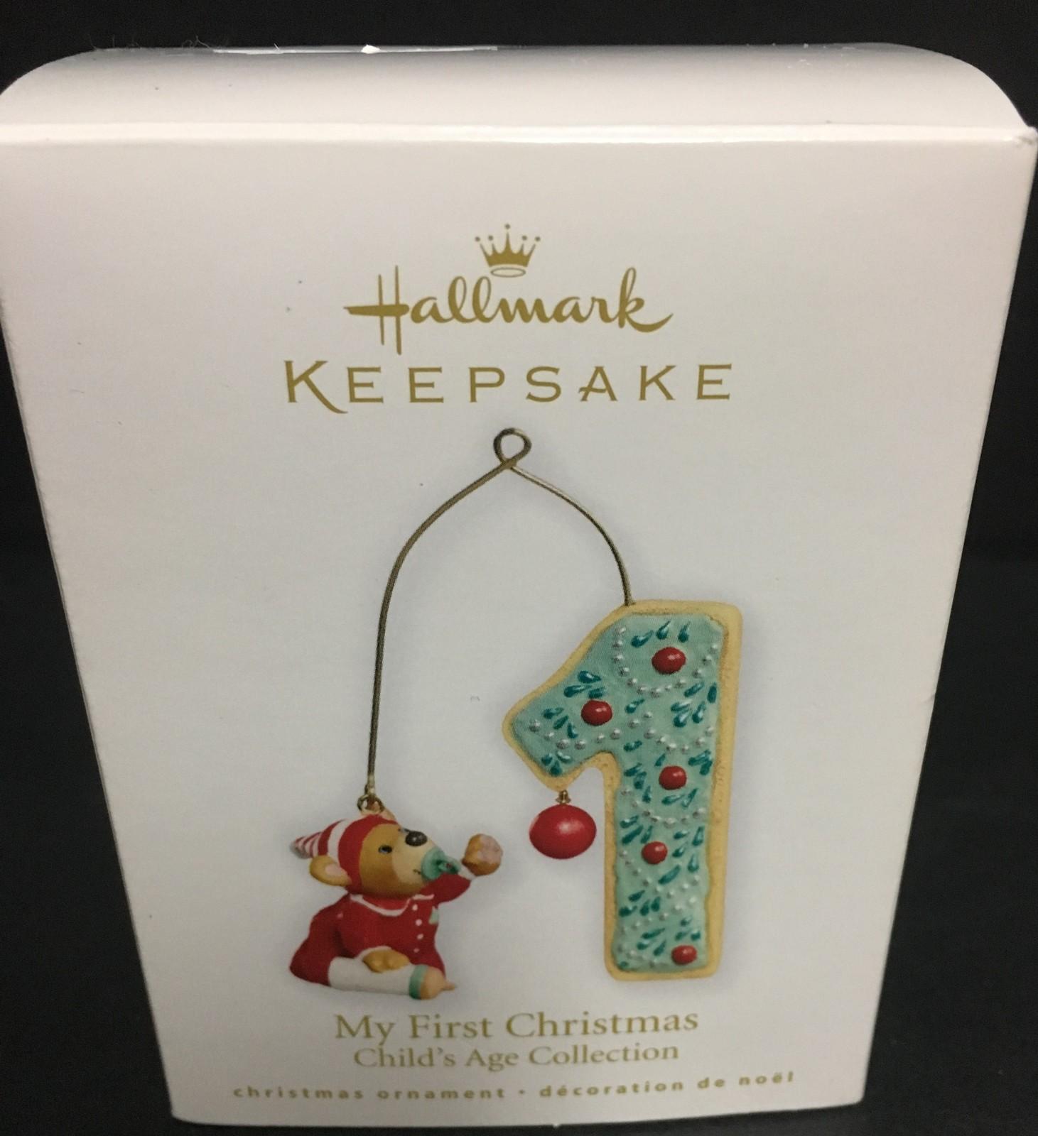 Hallmark My First Christmas Holiday Ornament 2010