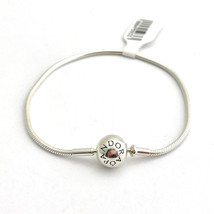 "Pandora Essence Collection Sterling Silver Bracelet, 596000-19, 7.5"" New - $53.19"