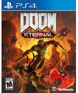 Brand new shooter DOOM Eternal Standard Edition PlayStation 4 free shipping - $56.90
