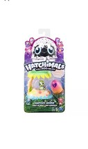 Hatchimals Colleggtibles Season 4 Hatch Bright Breezy Beach Light Up Nes... - $11.29