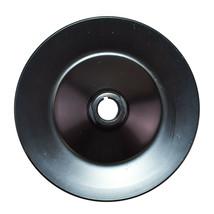 GM Saginaw Power Steering Pump Double-Groove Steel Pulley (Black) image 2