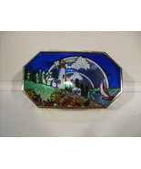 Painted Lighthouse Box Art Glass Beveled Glass Boxes - $34.99