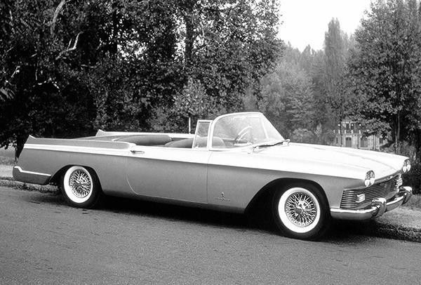 Primary image for 1958 Cadillac Skylight Convertible Concept Car - Promotional Photo Poster